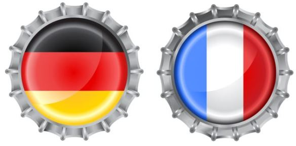 DE-FR-Flagge