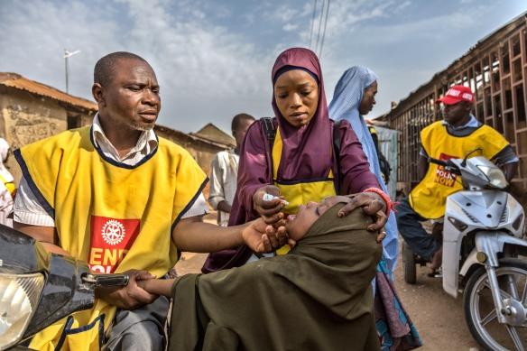 Polioplus in Kaduna, Nigeria.