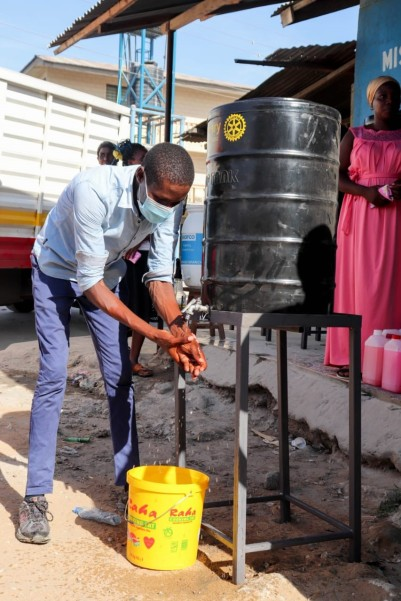 hand washing in east africa