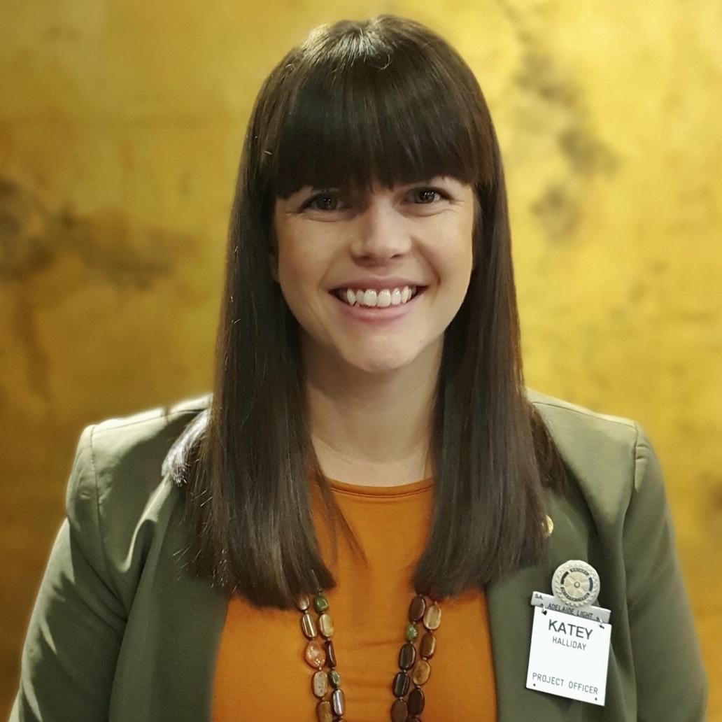 Katey Halliday Rotary Induction headshot